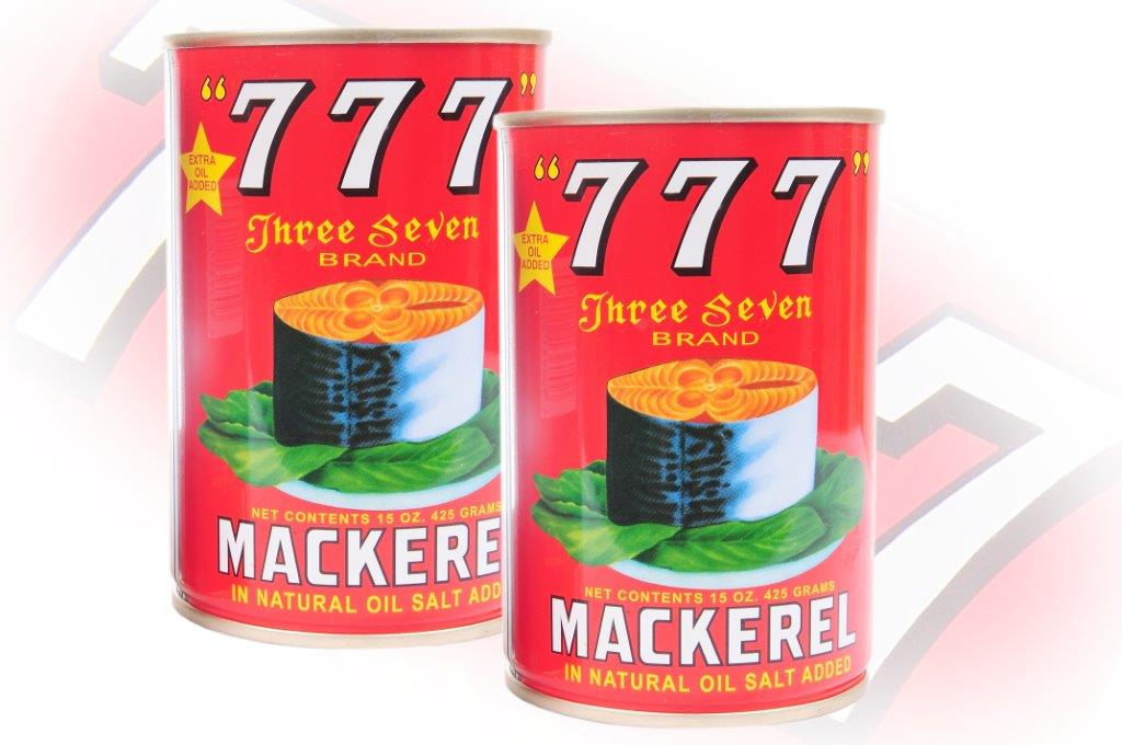 777 - Mackerel In Natural Oil - 425g - 48 cans - 107
