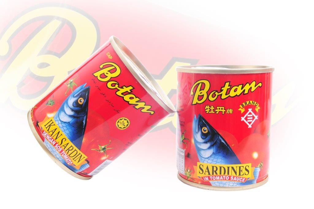 Botan - Sardines In Tomato Sauce - 230g - 48 cans - 100