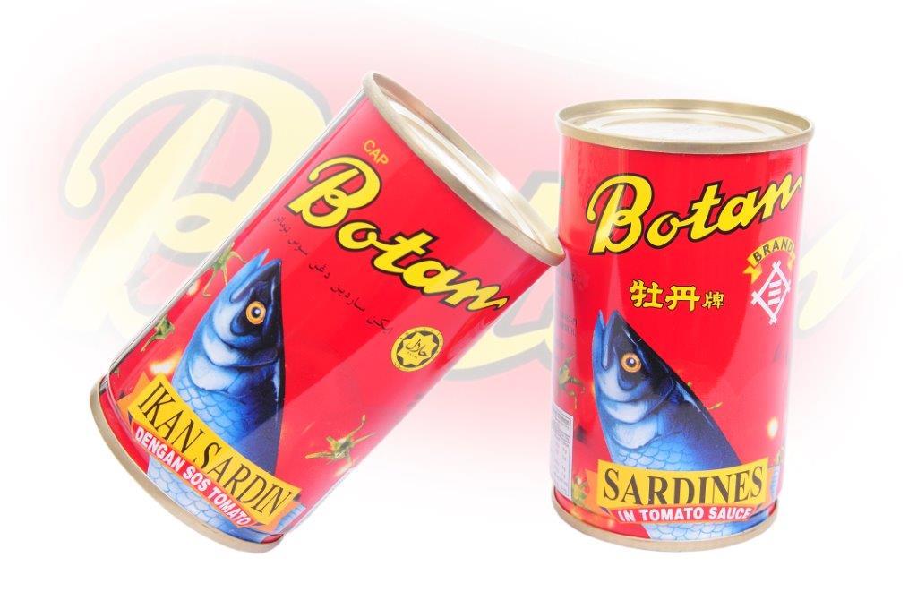 Botan - Sardines In Tomato Sauce - 425g - 24 cans - 92